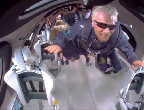 La persistencia factor clave de Richard Branson para conquistar el espacio